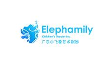 广东小飞象艺术剧团logo