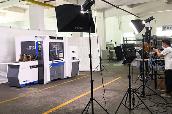 浩信过胶机 生产工艺流程片拍摄